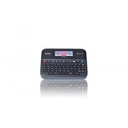 Brother P-Touch PT-D600VP - Étiqueteuse - monochrome - transfert thermique - Rouleau (2,4 cm) - jusqu'à 30 mm/sec - USB - noir