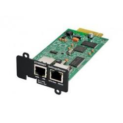 Eaton Network Card-MS - Carte de supervision distante - 100Mb LAN, RS-232 - pour Eaton PW9135G6000-XL3U, 5PX 1000, 1500, 2200,