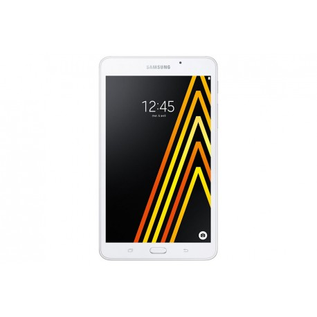 "Samsung Galaxy Tab A (2016) - Tablette - Android 5.1 - 8 Go - 7"" TFT (1280 x 800) - Logement microSD - 4G - LTE - blanc"