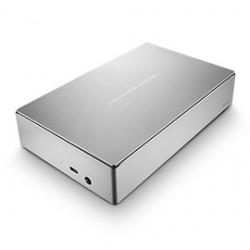 LaCie Porsche Design Desktop Drive - Disque dur - 4 To - externe (de bureau) - USB 3.0 - argenté(e)