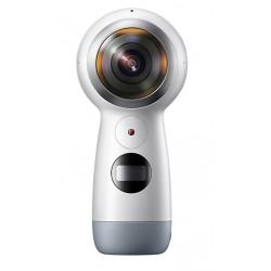 Samsung GALAXY Gear 360 (2017) - 360° caméra de poche - fixable - 4K / 24 pi/s - 8.4 MP - Wi-Fi, Bluetooth - blanc