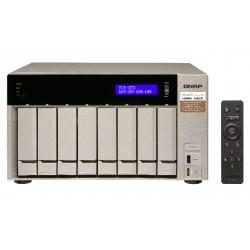 QNAP TVS-873 - Serveur NAS - 8 Baies - SATA 6Gb/s - RAID 0, 1, 5, 6, 10, JBOD, disque de réserve 5, 6 disques de secours, disqu
