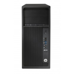 HP Workstation Z240 - MT - 1 x Core i7 7700K / 4.2 GHz - RAM 8 Go - HDD 1 To - graveur de DVD - HD Graphics 630 - GigE - Win 10