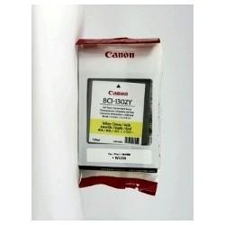 Canon BCI-1302Y - 130 ml - jaune - originale - cartouche d'encre - pour BJ-W2200, imagePROGRAF W2200, W2200S