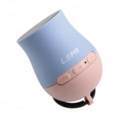 LEPA Q-Boom BTS03 - Haut-parleur - pour utilisation mobile - sans fil - Bluetooth - 3 Watt - duo pop