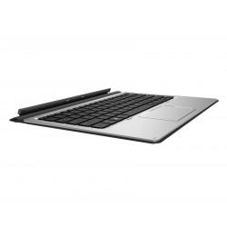 HP Travel - Clavier - avec pavé tactile - rétroéclairé - France - gris foncé - pour Elite x2 1012 G1, 1012 G2, MX12 Retail Solu