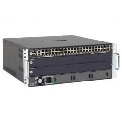 NETGEAR ProSAFE M6100-44G3-POE+ - Starter Kit - commutateur - C4 - Géré - 40 x 10/100/1000 + 2 x 10Gb Ethernet + 2 x 10 Gigabit