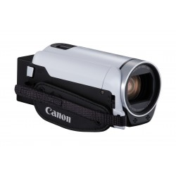 Canon LEGRIA HF R806 - Essential Kit - caméscope - 1080p / 50 pi/s - 3.28 MP - 32x zoom optique - carte Flash - blanc