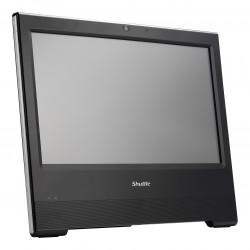 Shuttle XPC X50V6 - Barebone - tout-en-un - 1 x Celeron 3865U / 1.8 GHz ULV - HD Graphics 610 - GigE - LAN sans fil: 802.11b/g/