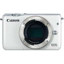 Canon EOS M10 - Appareil photo numérique - sans miroir - 18.0 MP - APS-C - 1080p / 30 pi/s - corps uniquement - Wi-Fi, NFC - bl