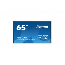 "Iiyama ProLite TE6568MIS-B1AG - Classe 65"" (64.5"" visualisable) écran DEL - communication interactive - avec écran tactile (m"
