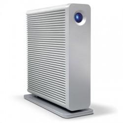 LaCie d2 Quadra - Disque dur - 6 To - externe (de bureau) - FireWire 800 / USB 3.0 / eSATA-300 - 7200 tours/min