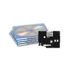 Brother TZeN201 - Noir sur blanc - Rouleau (0,33 cm x 7,99 m) 1 rouleau(x) bande non plastifiée - pour P-Touch PT-1010, D200, D