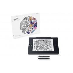 Wacom Intuos Pro Paper Edition Large - Numériseur - 31.1 x 21.6 cm - multitactile - électromagnétique - sans fil, filaire - USB