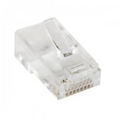 StarTech.com 50 Prises RJ45 Cat5e mâle - Connecteurs Modulaires Multibrin RJ45 Catégorie 5e en vrac - Fiches RJ45 Cat 5e - Conn