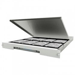 LaCie 8big Rack Thunderbolt 2 STGM48000400 - Baie de disques - 48 To - 8 Baies - HDD 6 To x 8 - Thunderbolt 2 (externe) - rack-