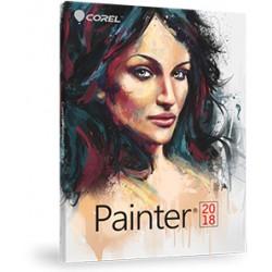 Corel Painter 2018 - Pack de boîtiers (mise à niveau) - 1 utilisateur - Win, Mac - anglais, allemand, français
