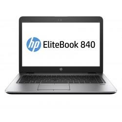"""HP EliteBook 840 G4 - Core i5 7300U / 2.6 GHz - Win 10 Pro 64 bits - 8 Go RAM - 256 Go SSD TLC - 14"""" TN 1920 x 1080 (Full HD)"""