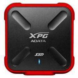 ADATA ASD700X - Disque SSD - 256 Go - externe (portable) - USB 3.1 Gen 1 - rouge