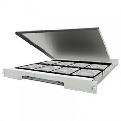 LaCie 8big Rack Thunderbolt 2 - Baie de disques - 64 To - 8 Baies (SATA-600) - HDD 8 To x 8 - Thunderbolt 2 (externe) - rack-mo