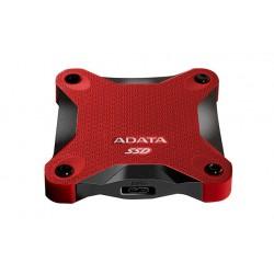ADATA Durable SD600 - Disque SSD - 512 Go - externe (portable) - USB 3.1 Gen 1 - rouge
