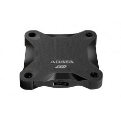 ADATA Durable SD600 - Disque SSD - 256 Go - externe (portable) - USB 3.1 Gen 1 - noir