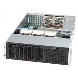 Supermicro SC835 TQ-R800B - Rack-montable - 3U - ATX étendu - SATA/SAS - hot-swap 800 Watt - noir