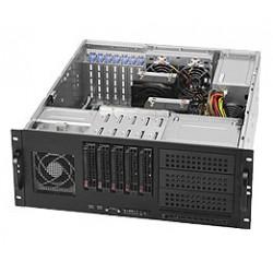 Supermicro SC842 TQ-865B - Rack-montable - 4U - ATX étendu - SATA/SAS - hot-swap 865 Watt - noir - USB