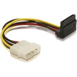 Supermicro - Adaptateur secteur - alimentation interne 4 plots (M) pour alimentation SATA (M) - connecteur à angle droit