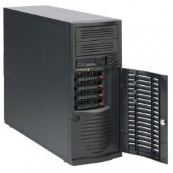 Supermicro SC733 TQ-665B - Tour midi - ATX étendu - SATA/SAS - hot-swap 665 Watt - noir - USB - pour SuperWorkstation 7036A-T
