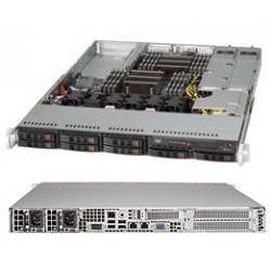 Supermicro SC119 TQ-R700WB - Rack-montable - 1U - SATA/SAS - hot-swap 750 Watt - noir