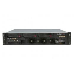Supermicro SC825 MTQ-R700LPB - Rack-montable - 2U - ATX étendu - SATA/SAS - hot-swap 700 Watt - noir