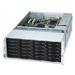 Supermicro SC847 E16-R1400LPB - Rack-montable - 4U - ATX étendu - SATA/SAS - hot-swap - alimentation redondante 1400 Watt - noi