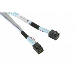 Supermicro - Câble interne SAS - SAS 12Gbit/s - Disque dur SAS Mini 4x (SFF-8643) (M) pour Disque dur SAS Mini 4x (SFF-8643) (M