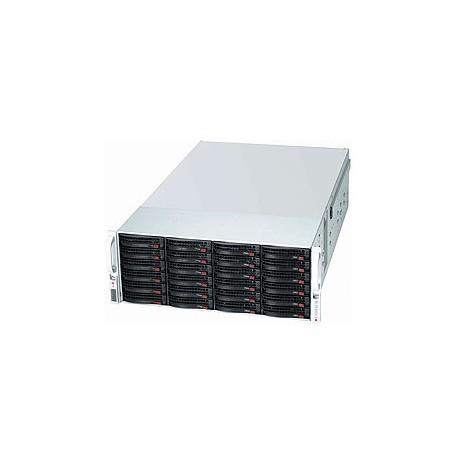 Supermicro SC847 E16-RJBOD1 - Rack-montable - 4U - SATA/SAS - hot-swap 1400 Watt - noir