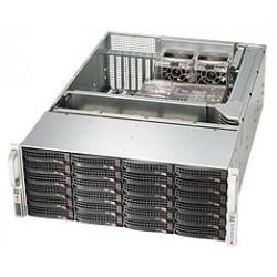 Supermicro SC846 BA-R920B - Rack-montable - 4U - ATX étendu - SATA/SAS - hot-swap 920 Watt - noir