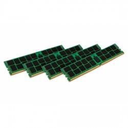 Kingston ValueRAM - DDR4 - 128 Go: 4 x 32 Go - DIMM 288 broches - 2400 MHz / PC4-19200 - CL17 - 1.2 V - enregistré avec parité