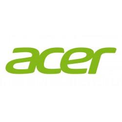 Acer - Étui protecteur pour tablette - synthétique, tissu - gris, rouge rococo - pour One 10