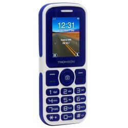 Thomson T Link 18 - Téléphone mobile - double SIM - microSD slot - GSM - 128 x 160 pixels - 0,3 MP - bleu