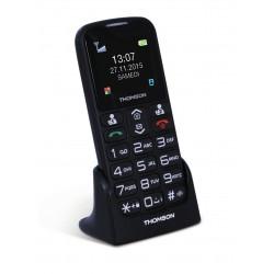 Thomson Serea 51 - Téléphone mobile - microSD slot - GSM - 160 x 128 pixels - TFT - 0,3 MP - noir