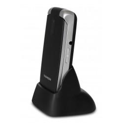 Thomson Serea 62 - Téléphone mobile - microSD slot - GSM - 240 x 320 pixels - 0,3 MP - noir
