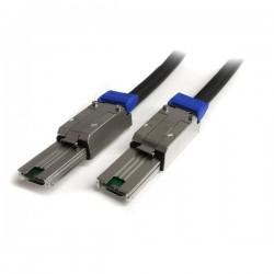 StarTech.com 2m External Mini SAS Cable - Serial Attached SCSI SFF-8088 - Câble externe SAS - SAS 6Gbit/s - 4 voies - 4 SAS min