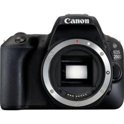 Canon EOS 200D - Appareil photo numérique - Reflex - 24.2 MP - APS-C - 1080p / 60 pi/s - corps uniquement - Wi-Fi, Bluetooth, N