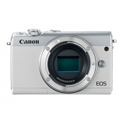 Canon EOS M100 - Appareil photo numérique - sans miroir - 24.2 MP - APS-C - 1080p / 60 pi/s - corps uniquement - Wi-Fi, NFC, Bl