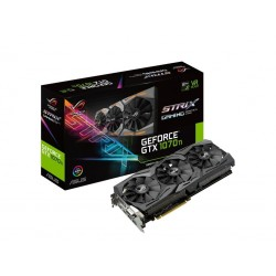 ASUS ROG-STRIX-GTX1070TI-A8G-GAMING - Advanced Edition - carte graphique - GF GTX 1070 Ti - 8 Go GDDR5 - PCIe 3.0 x16 - DVI, 2