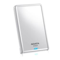 """ADATA DashDrive HV620 - Disque dur - 2 To - externe (portable) - 2.5"""" - USB 3.0 - blanc"""