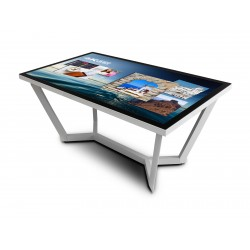 """NEC ZLEGS-55-850-W - Composant de montage (pieds de table) pour écran plat interactif - blanc - Taille d'écran : 55"""" - pour M"""
