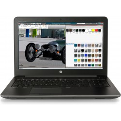 HP ZBook 15 G4 Mobile Workstation - Xeon E3-1505MV6 / 3 GHz - Win 10 Pro 64 bits - 32 Go RAM - 512 Go SSD HP Z Turbo Drive, NVM
