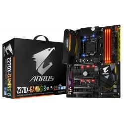 Gigabyte GA-Z270X-Gaming 8 - 1.0 - carte-mère - ATX - Socket LGA1151 - Z270 - USB 3.1 Gen 1, USB-C Gen2, USB 3.1 Gen 2 - Blueto