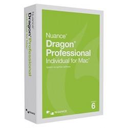 Dragon Professional Individual for Mac - (v. 6) - ensemble de boîtes - 1 utilisateur - DVD - Mac - allemand